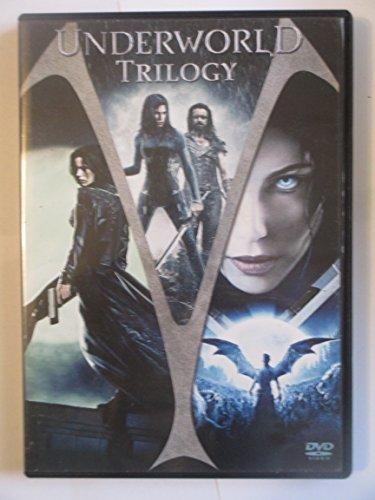Underworld Trilogy (Underworld (Extended Cut)/Underworld: Evolution/Underworld: Rise Of The Lycans) (Dvd)