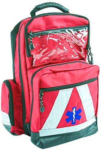 Basic Medical Supply BMS-2S 135228salvavidas Mochila Impermeable, color rojo 2