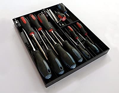 Tool Sorter Screwdriver Organizer - Black by Sky Leap LLC