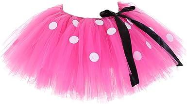 UNWSTYU Faldas de Malla para Mujer y niño, tutú de Halloween ...
