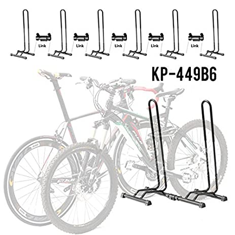Adjustable Bike Floor Parking Rack Storage Stand Bicycle