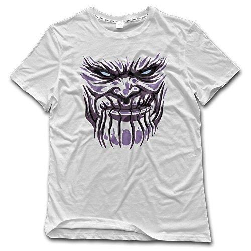 - Romantic Fish Thano T Shirts for Men Graphic Summer Pattern Top Cartoon White 6XL