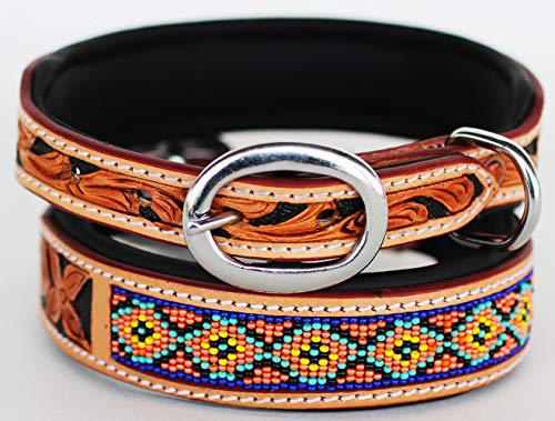 PRORIDER Small Rhinestone Dog Puppy Collar Crystal Cow Leather 6034