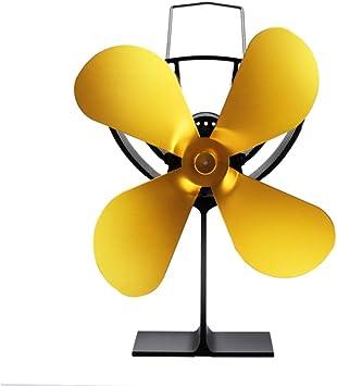 Ventilador De 4 Palas Alimentado Por Calor Con Sensor Temperatura ...