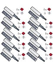 Mengger Push to Open System Demper Buffer Kasten Deur Lade Scharnieren Magnetische Klem voor Meubelen 10st Klink Klinken Kast Set dempers