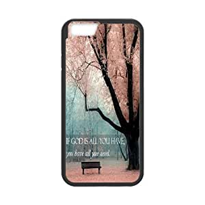 "Customized Dual-Protective Case for Iphone6 4.7"", John Quotations Cover Case - HL-701024"