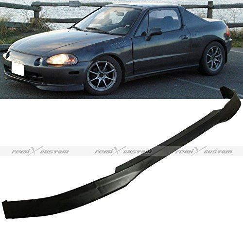Remix Custom 1993-1997 Honda Del Sol Type-R Style PP Front Body Bumper Lip Spoiler Kit -