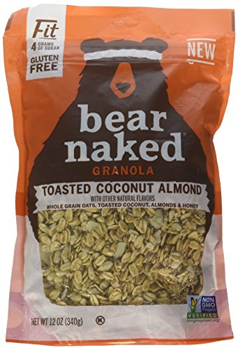 Bear Naked Toasted Coconut Almond Fit Granola, 12 Ounce -