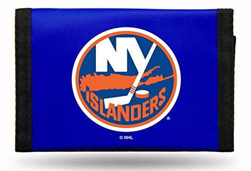 NHL New York Islanders Nylon Trifold Wallet