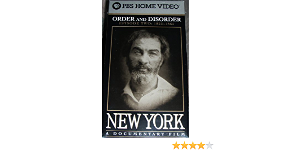 Amazon Com New York Episode 2 Order And Disorder Movies Tv