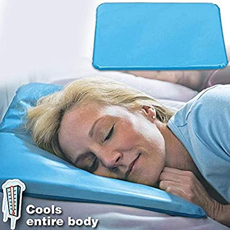 Hot Sweat and much more  Gel Cooling Pillow Pad Aids Sleep Migraine