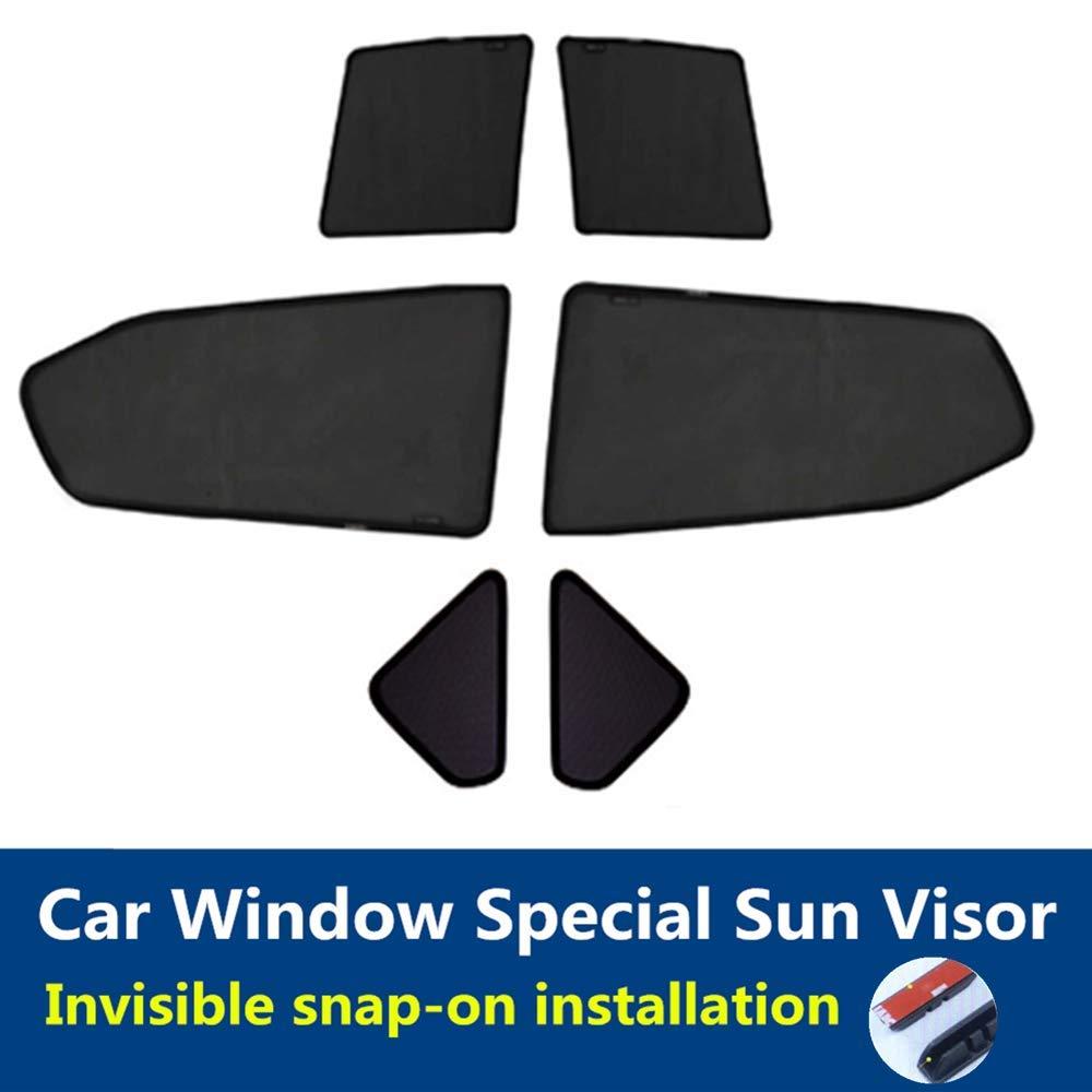 F25 TUTU-C-C Parasole per finestrini Auto 2011-2017 per BMW X3 Protezione UV 6 Pezzi
