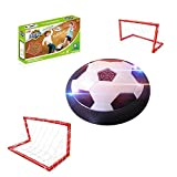 GZCY Toys for 3-12 Year Old Boys, Hover Football Soccer with Gates 3-12 Year Old Boy Gifts Boy Toys Age 3-12 Birthday Present