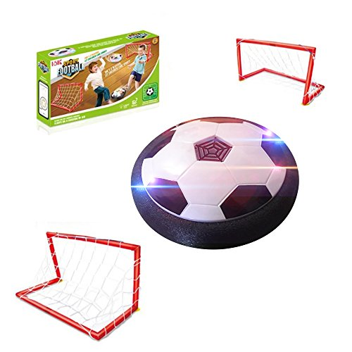 GZCY Toys for 3-12 Year Old Boys, Hover Football Soccer with Gates 3-12 Year Old Boy Gifts Boy Toys Age 3-12 Birthday Present by GZCY