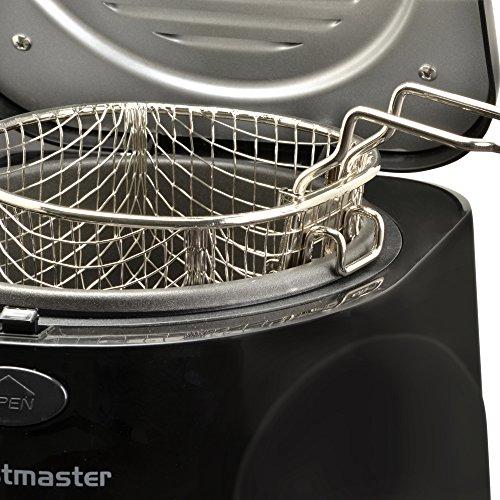 Toastmaster TM-81DF Deep Fryer, 1 L, Black
