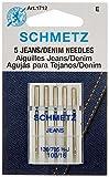 Arts & Crafts : Jean & Denim Machine Needles-Size 16/100 5/Pkg