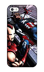 Steve Leatherwood's Shop Pretty Iphone 5/5s Case Cover/ Marvel Series High Quality Case 5627319K88022491