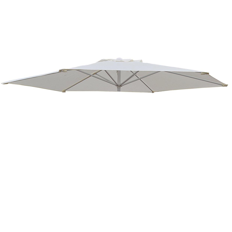 Umbrella Cover Canopy 8.2ft 6 Rib Patio Replacement Top Outdoor-ecru