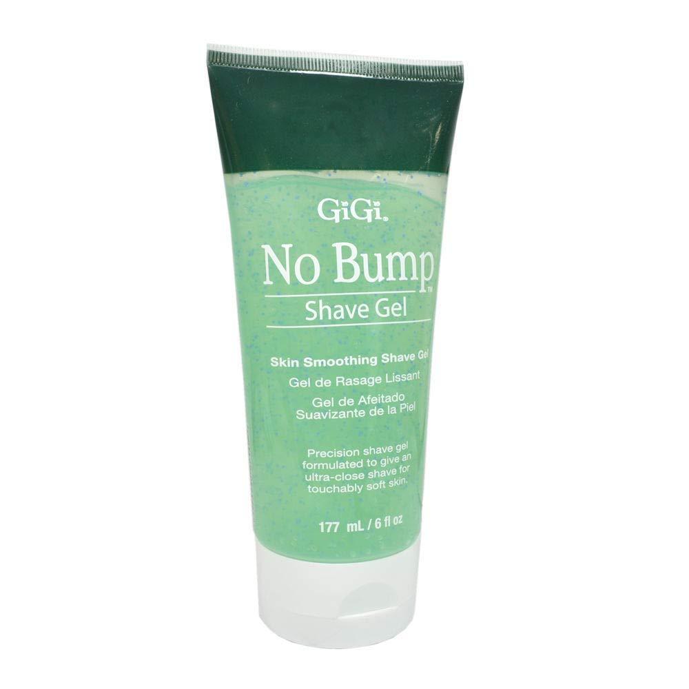 GiGi No Bump Skin Smoothing Shave Gel with Salicylic Acid and Chamomile Extract, 6 oz 0714