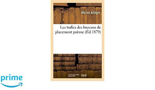 Les trafics des bureaux de placement poème litterature french