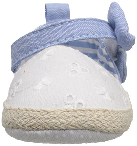 Pictures of Luvable Friends Girl's Bow Espadrille Sandal 4 M US Toddler 6