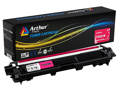 - Arthur Imaging Compatible Toner Cartridge Replacement for Brother TN225 (Magenta, 1-Pack)