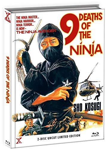 9 Death of the Ninja - Die 9 Leben der Ninja - Uncut - Mediabook - Limited Edition  (  DVD), Cover B [Blu-ray]