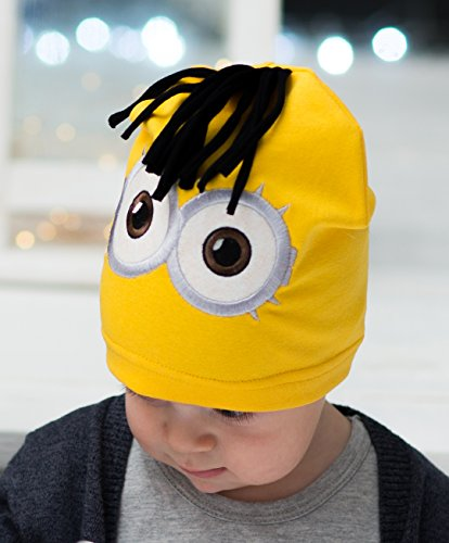 Tourmania Minion Hat for Baby Kids 1 - 3 Years -