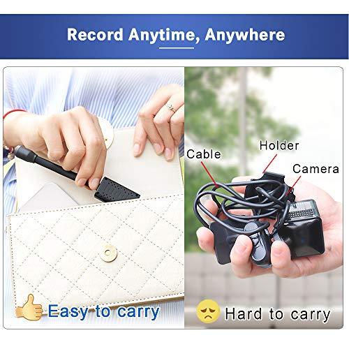 OWSOO Spy Hidden Camera,Portable Nanny Camera,1080P Mini Homehold Camera,AI Human Detection,Cam Cloud Storage,Smallest Spy Hidden Camer,Real Time Monitoring Camcorder