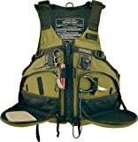 Stohlquist Fisherman Personal Floatation Device, Cactus, Large/X-Large, Outdoor Stuffs
