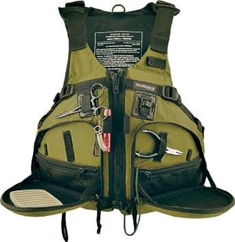 Stohlquist Fisherman Personal Floatation Device, Cactus, Small/Medium