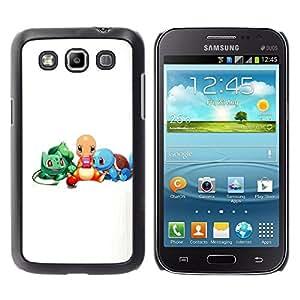 EJOY---Cubierta de la caja de protección la piel dura para el / Samsung Galaxy Win I8550 / --Pokemn Amigos
