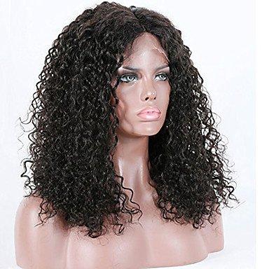 mujeres pelo auténtico Lace peluca Remy 360 de brasileño frontalen 150% 180% Densidad con