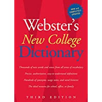 Websters New College Dictionary, Third Edition