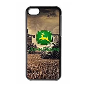 iPhone 5C Phone Case Black John Deere SF8602503