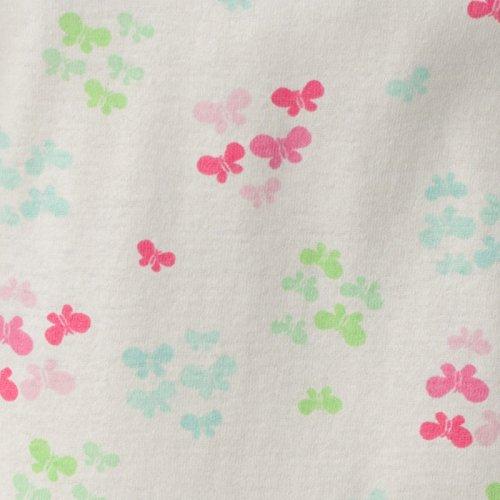 Gerber Girls' 2 Piece Cotton Pajama, Butterflies, 24 Months