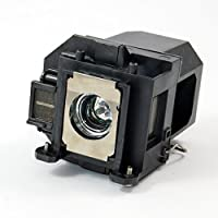 Brand New Epson ELPLP57 High Quality Replacement Lamp with Housing for Epson Projectors V13H010L57 180 Day Warranty