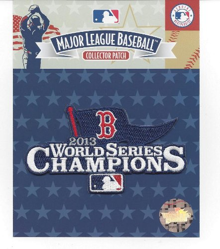 2013 Boston Red Sox MLB World Series Champions Jersey Sleeve Patch