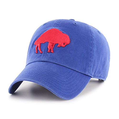 OTS NFL Buffalo Bills Legacy Challenger Adjustable Hat, One Size, Royal