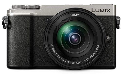PANASONIC LUMIX GX9 4K Mirrorless ILC Camera Body with 12-60mm F3.5-5.6 Power O.I.S. Lens, DC-GX9MS (USA SILVER) ()
