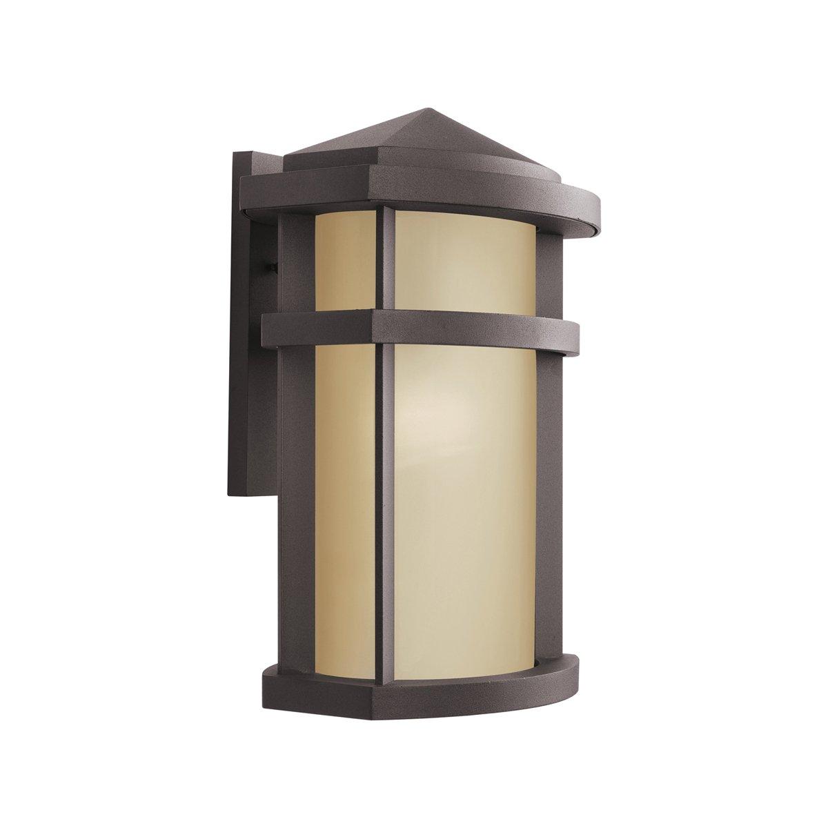Kichler 9166az lantana outdoor wall 1 light architectural bronze kichler 9166az lantana outdoor wall 1 light architectural bronze wall porch lights amazon aloadofball Choice Image