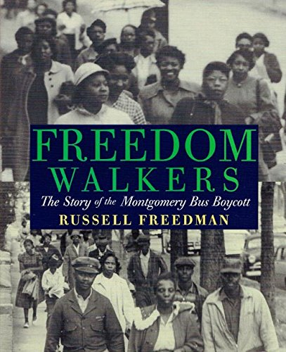 Freedom Walkers: The Story of the Montgomery Bus Boycott, 9780547996073, 0547996071, 2006 (Journeys)