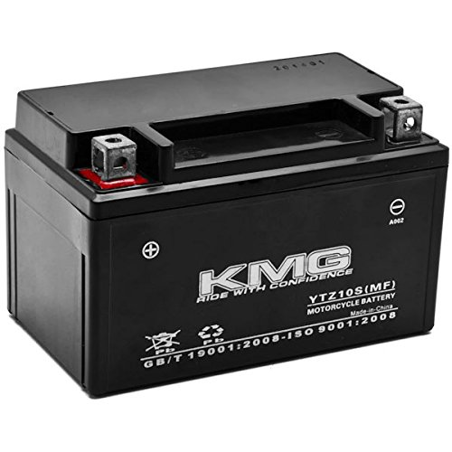 350 Raptor (KMG Yamaha 350 YFM35R Raptor 2004-2012 YTZ10S Sealed Maintenace Free Battery High Performance 12V SMF OEM Replacement Maintenance Free Powersport Motorcycle ATV Scooter Snowmobile KMG)
