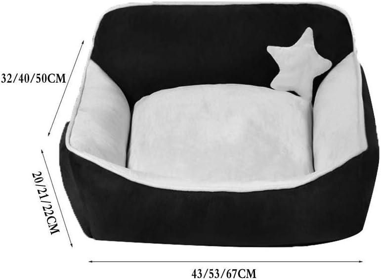 YQ WHJB Leuke hondenbed voor huisdieren, comfortabele bank voor honden met zachte hondenmatras geschikt voor alle seizoenen (Kleur: C, Maat: S) 17