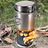 Ggpotte Camping Cookware Hiking Outdoor 304