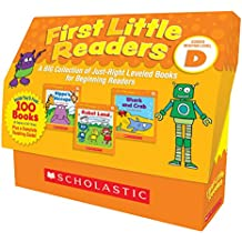 First Little Readers: Guided Reading Level D: A BIG Collection of Just-Right Leveled Books for Beginning Readers