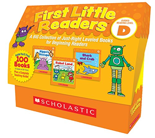 First Little Readers: Guided Reading Level D: A BIG Collection of Just-Right Leveled Books for Beginning Readers by Scholastic