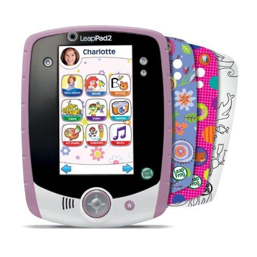 LeapFrog LeapPad2 Kids' Learning Tablet (Custom Edition), Pink by LeapFrog (Image #10)