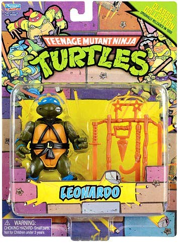TMNT Teenage Mutant Ninja Turtles Classic Collection 4 Inch Action Figure LEONARDO playmates 90901