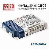MeanWell LCM-60DA LED Driver - 60W Selectable Ouput -DALI